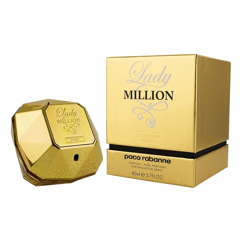 Lady Million Absolutely Gold от Paco Rabanne - 1