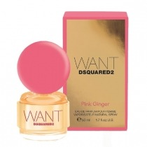 Want Pink Ginger от DSQUARED2 - Парфюмерная вода, 100 мл