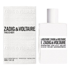 This is Her от ZADIG & VOLTAIRE - парфюмерная вода, 2 мл отливант