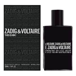 This is Him от ZADIG & VOLTAIRE - Туалетная вода, 100 мл тестер