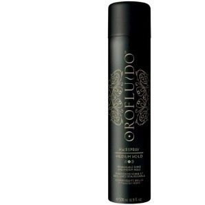 Лак для волос средней фиксации Orofluido Medium Hair Spray от Revlon Professional - Лак, 500 мл