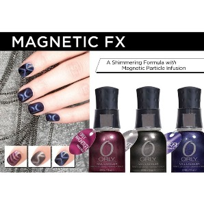 Лак Nail Color коллекция Magnetic FX от Orly - лак для ногтей 18 мл №779 (Magnetic FX - Paint on Electron (с магнитом)