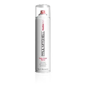 Сухой аэрозольный лак средней фиксации Super Clean Spray от Paul Mitchell - Флакон, 300 мл